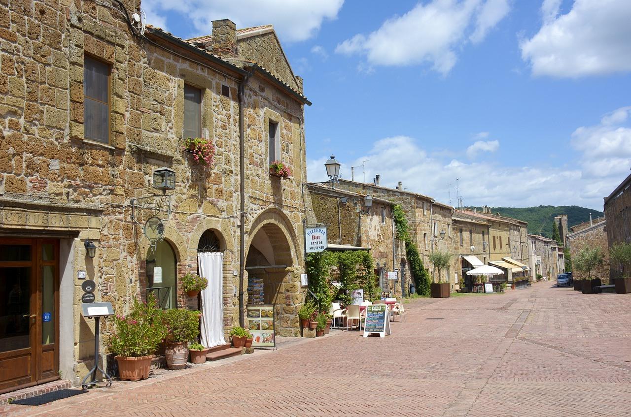 Ottobre in Toscana Sovana - Residenza Principina
